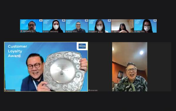 15th Years Appreciation Customer Loyalty Award - Bank Maspion x Jaringan PRIMA