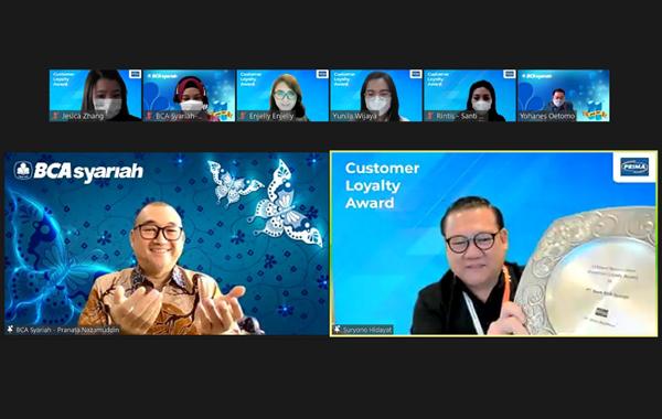 15th Years Appreciation Customer Loyalty Award - Bank BCA Syariah x Jaringan PRIMA