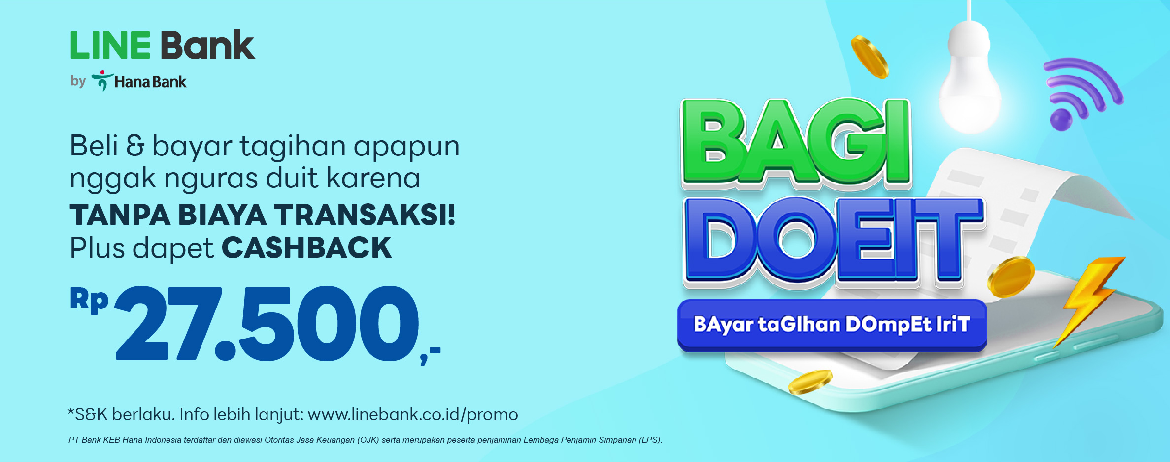 Promo Bill Payment LINE Bank