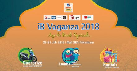iB Vaganza 2018 di Pekanbaru