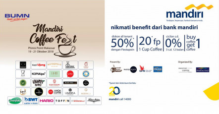 Mandiri Coffee Fest 2018