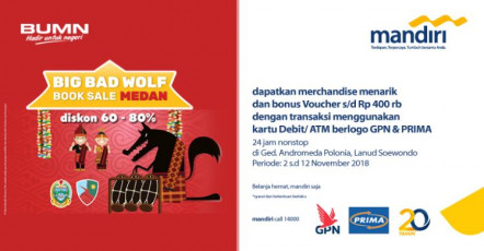 Big Bad Wolf Book Sale Medan