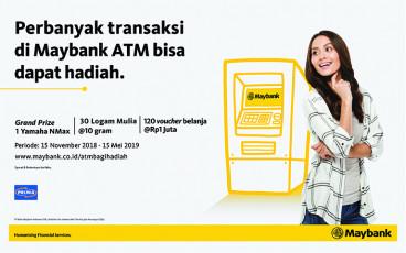 Maybank ATM PRIMA Bagi Hadiah