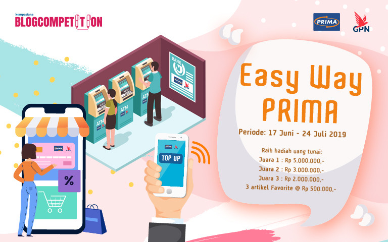 """Easy Way JARINGAN PRIMA"" Blog Competition"