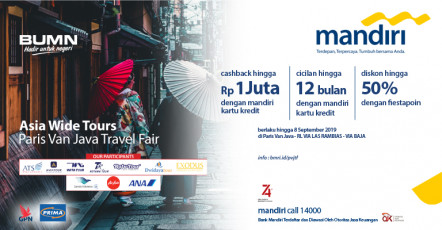 Asia Wide Tours Paris Van Java Travel Fair