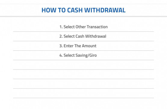 How To Withdraw Cash