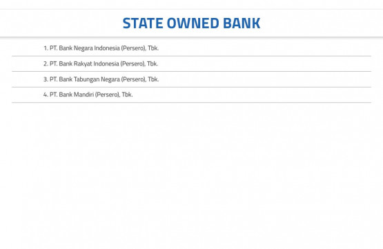 State Owned Bank