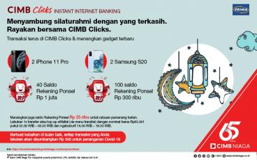Program Ramadhan OCTO Mobile dan CIMB Clicks