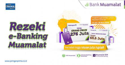 Rezeki e-Banking Total Hadiah hingga Ratusan Juta Rupiah