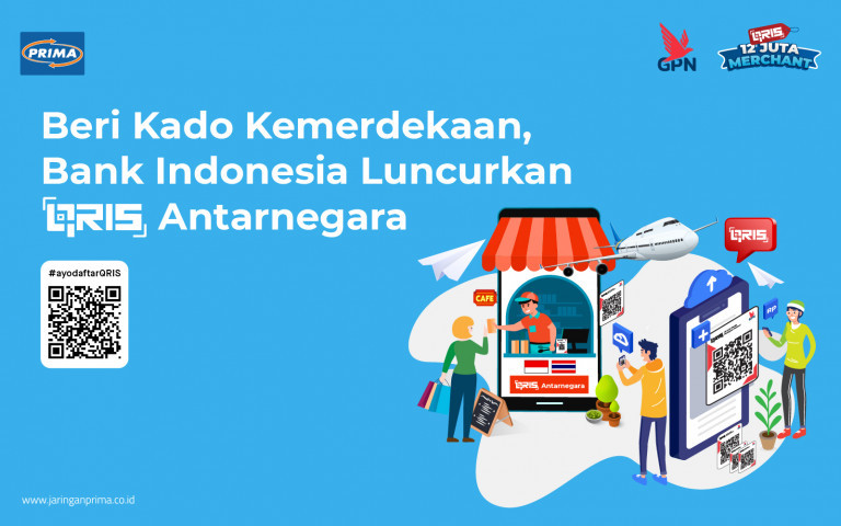 Beri Kado Kemerdekaan, Bank Indonesia Luncurkan QRIS Antarnegara