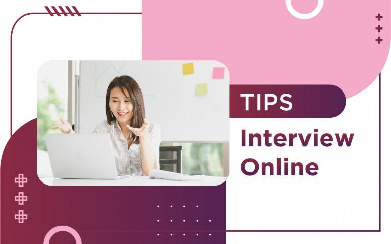 TIPS INTERVIEW ONLINE